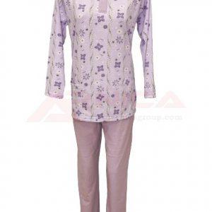 Пижама трико лила