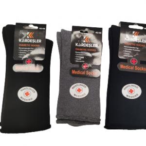 Мъжки термо чорапи без ластик за разширени вени