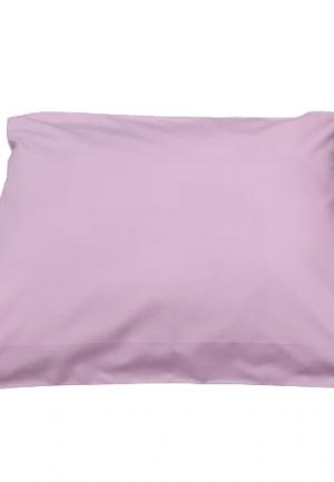 Калъфка за възглавница ранфорс розова