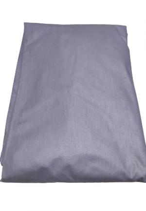 Долен чаршаф ранфорс сив