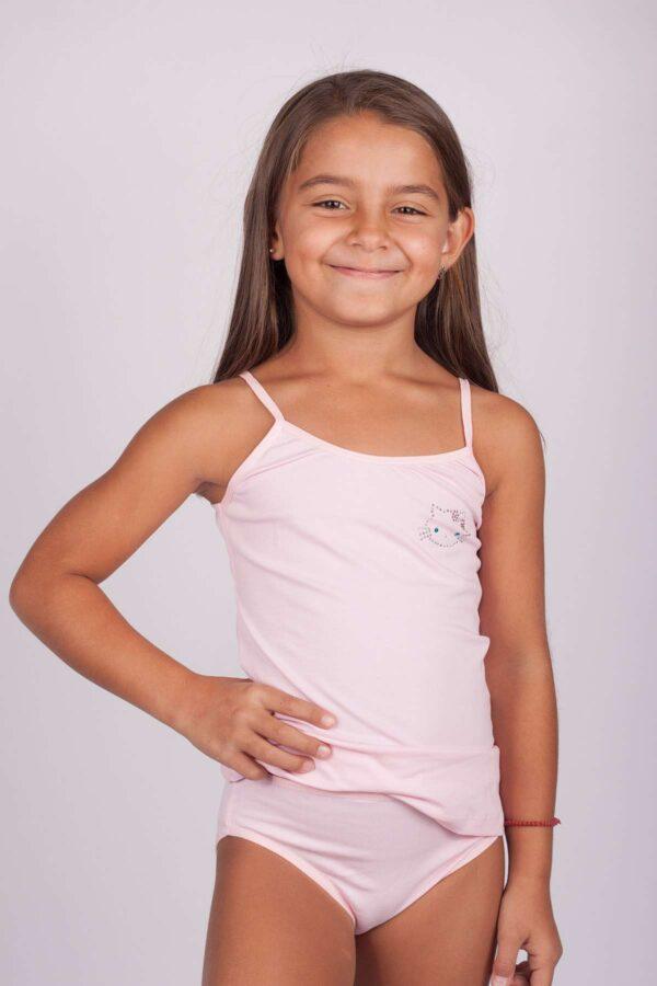 комплект за момиче с тънка презрамка деси