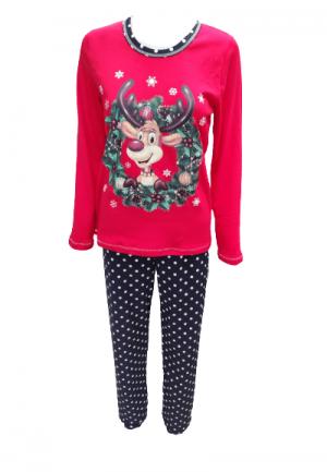 Коледна пижама Еленче