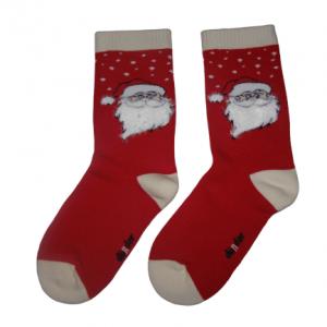 Коледни термо чорапи червен Дядо Коледа
