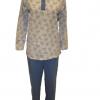 Памучна ватирана пижама Златев