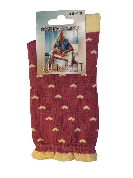 дамски чорапи сърца
