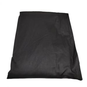 Долен чаршаф ранфорс черен