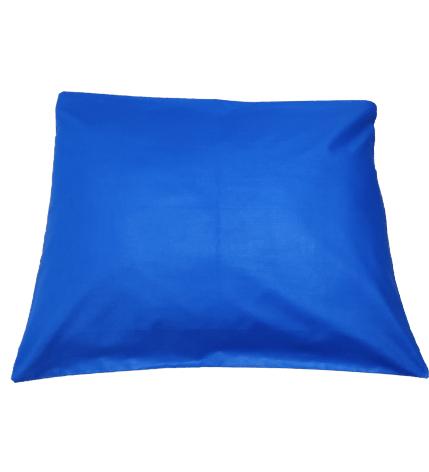 Калъфка за възглавница ранфорс синя