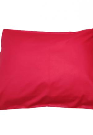 Калъфка за възглавница ранфорс червена