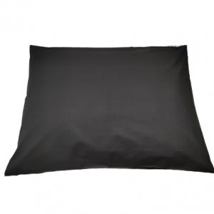 Калъфка за възглавница ранфорс черна