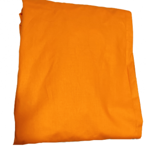 Долен чаршаф ранфорс оранж