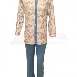 пижама-с-цяло-закопчаване-златев-синя