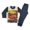 Детска пижама пениран памук Маккуин