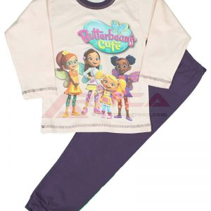 Детска пижама пениран памук Butterbeans