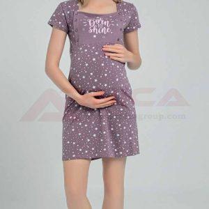 Нощница за бременни и кърмачки лукс