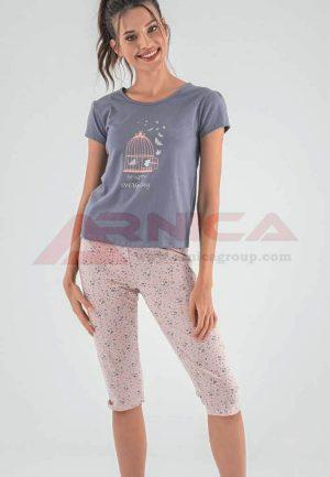 Пижама памучна Be happy