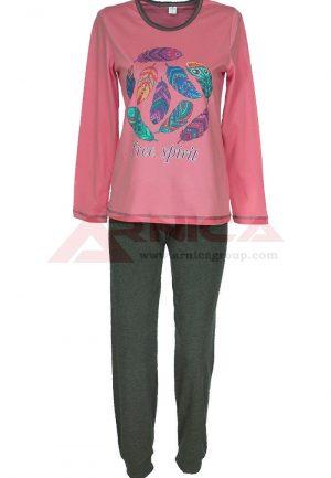 пижама пениран памук Пера