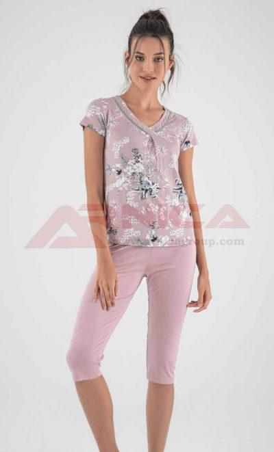 Пижама вискоза макси лукс от 2XL до 5XL