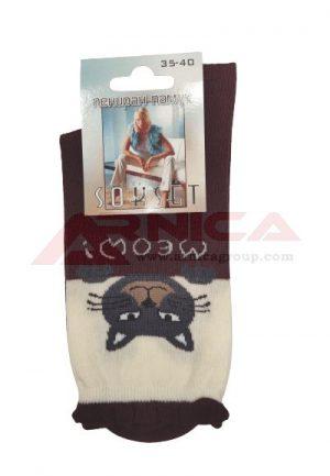 Дамски памучни чорапи Коте