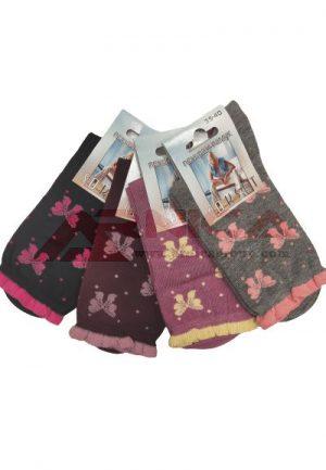 Дамски памучни чорапи Панделки