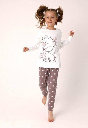 детска пижама коте