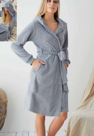 Дамски плюшен халат